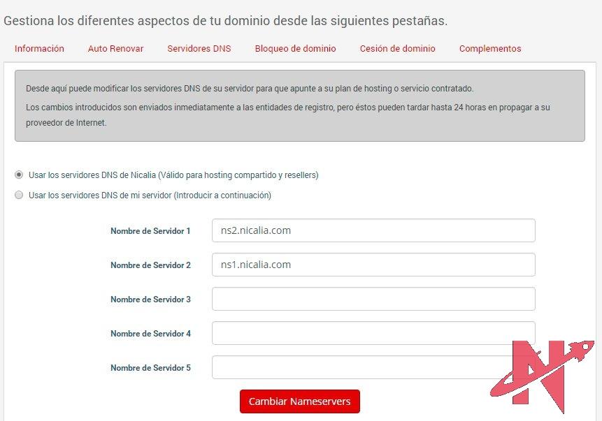 servidor-dns-area-cliente-nicalia