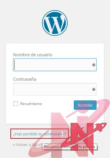 recuperar-contrasena-de-wordpress