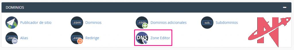 editor de zonas